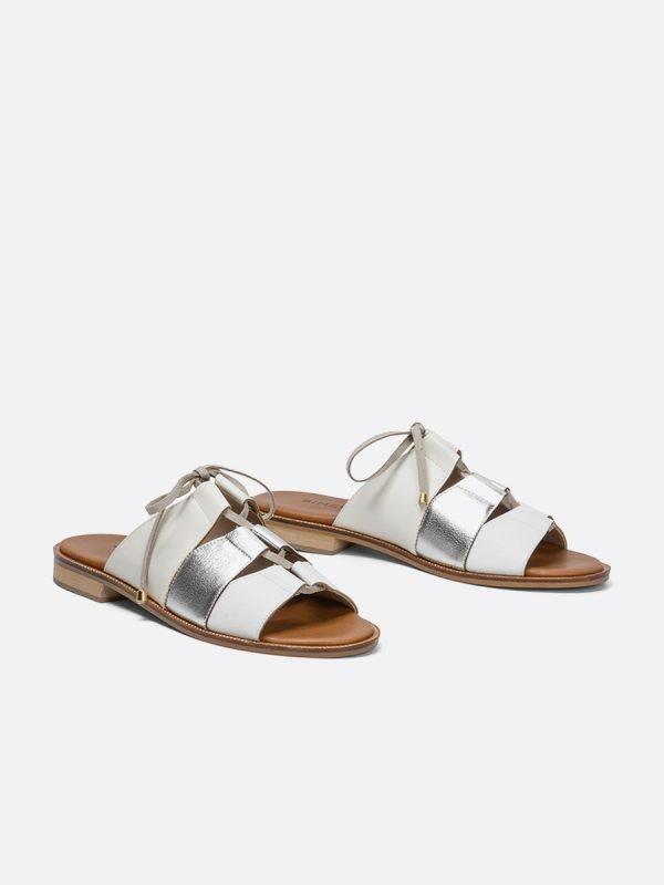 ALIDA21-BLA, Todos los zapatos, Sandalias Planas, vista Galeria