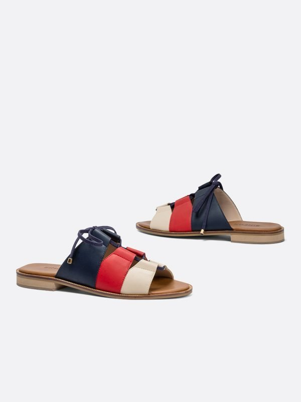 ALIDA21-ROJ, Todos los zapatos, Sandalias Planas, vista Galeria