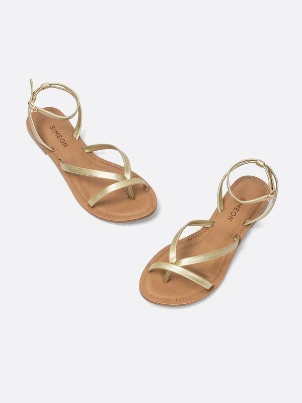 DENVER2-CHA, Todos los zapatos, Sandalias Planas, vista Galeria