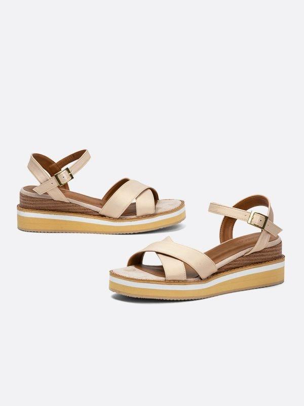 MALBA-CHA, Todos los zapatos, Plataformas, Sandalias Plataformas, Sintético, Vista Galeria