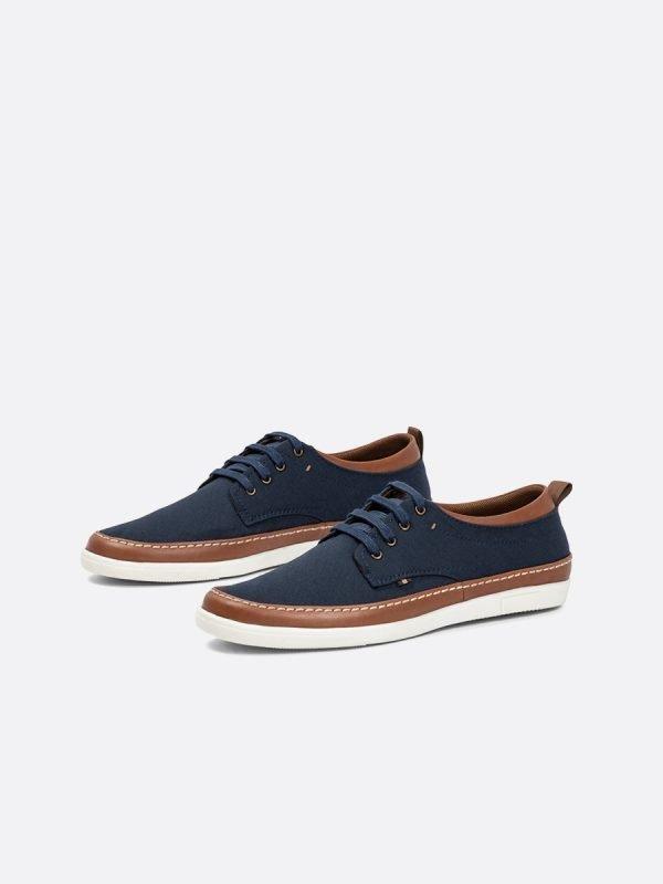 SIMON05-AZU, Todos los zapatos, Casuales, Cuero, Vista Galeria