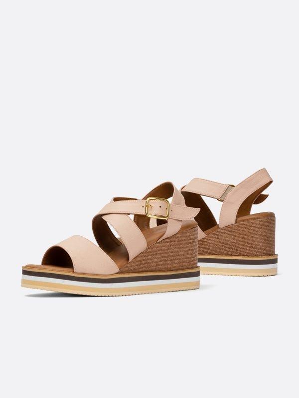 TONY3-NUD, Todos los zapatos, Plataformas, Sandalias Plataformas, Sintético, Vista Galeria