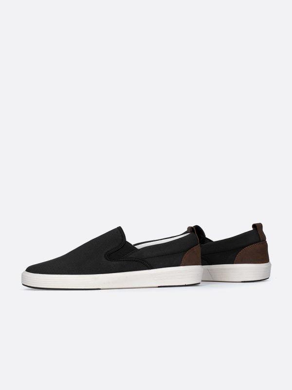 FRANCIA12-NEG, Todos los zapatos, Mocasines, Tenis, Cuero, Vista Galeria
