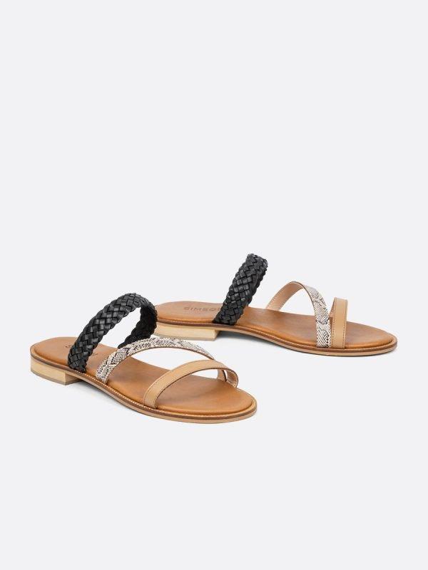 LEAD2-NEG, Todos los zapatos, Sandalias Planas, vista Galeria