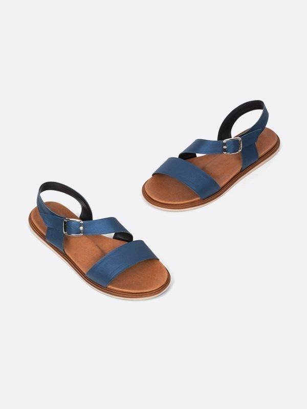 MISS21-AZU, Todos los zapatos, Sandalias Planas, vista Galeria