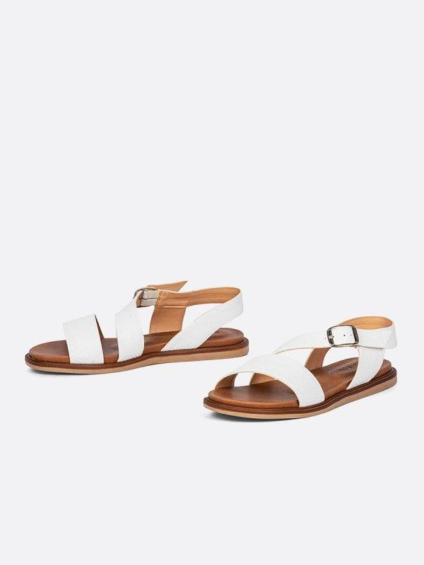 MISS21-BLA, Todos los zapatos, Sandalias Planas, vista Galeria