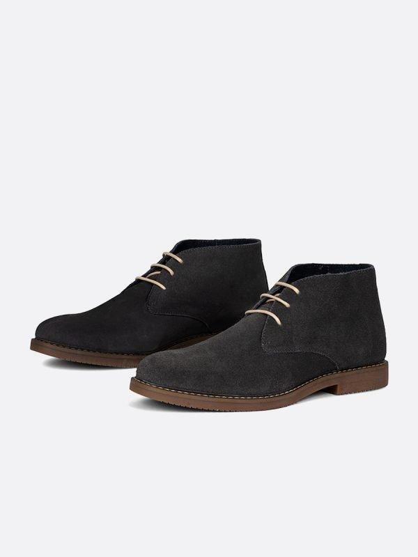 RIBE04-GRI, Todos los zapatos, Botas , Casuales, Cuero, Vista Galeria