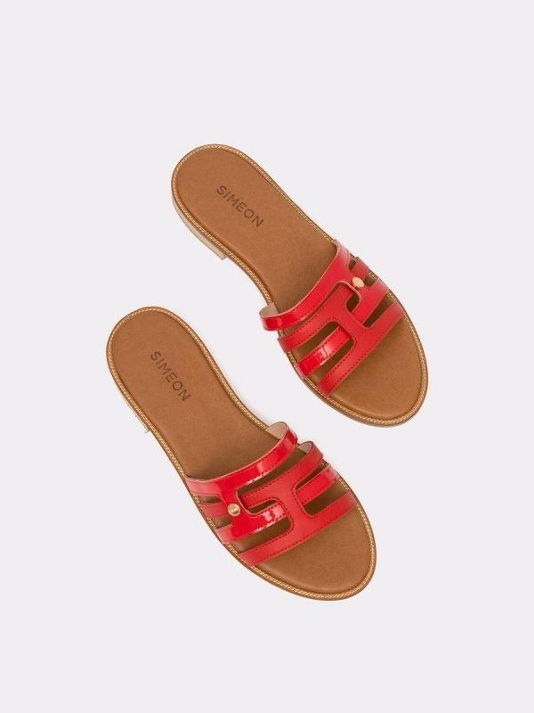 LEAD-ROJ, Todos los zapatos, Sandalias Planas, vista Galeria
