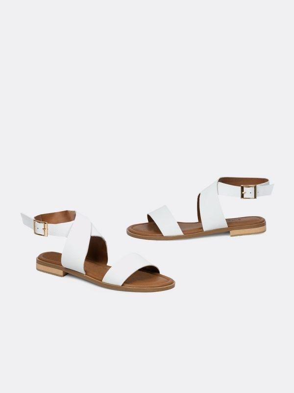 TOLU2-BLA, Todos los zapatos, Sandalias Planas, vista galeria