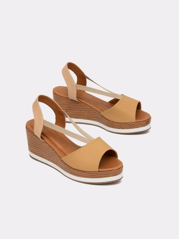 ABET21-BEI, Todos los zapatos, Sandalias Plataforma, Galeria