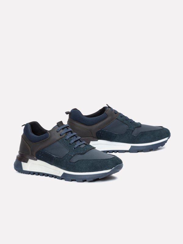 ASIE04-AZU, Todos los zapatos, Casuales, Cuero, Vista Galeria