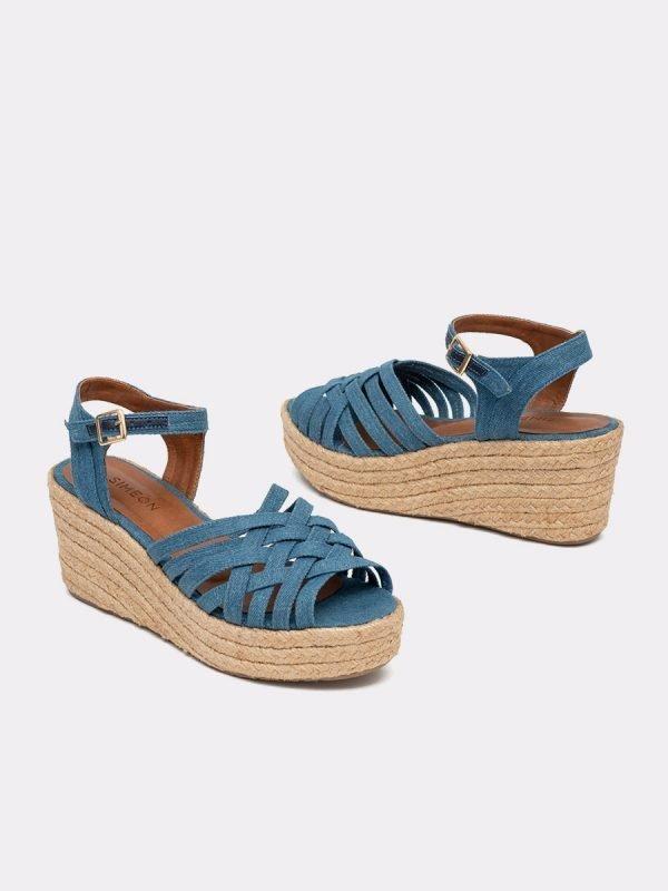 AVRIL21-AZUL, Todos los zapatos, Sandalias Plataforma, Galeria