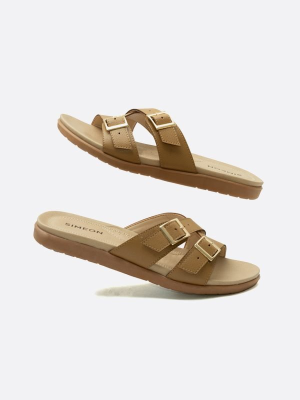 CLOU4-CAM, Todos los zapatos, Sandalias Planas, vista Galeria