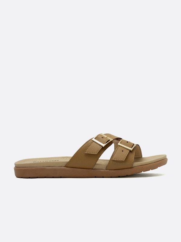 CLOU4-CAM, Todos los zapatos, Sandalias Planas, vista Lateral