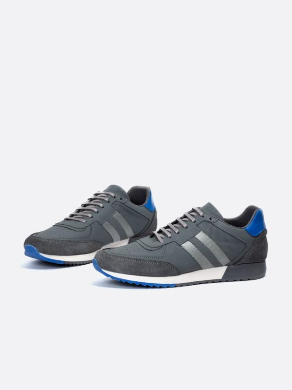 DEGEL21-GRI-Todos los zapatos – Deportivos – Cuero – Galeria 2