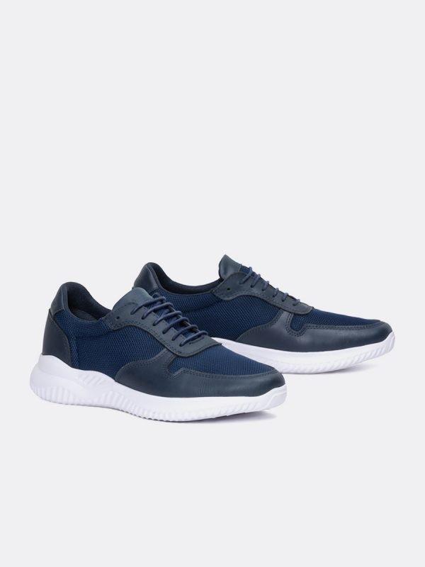 DIM01-AZU-Todos los zapatos – Deportivos – Cuero – Vista Galeria