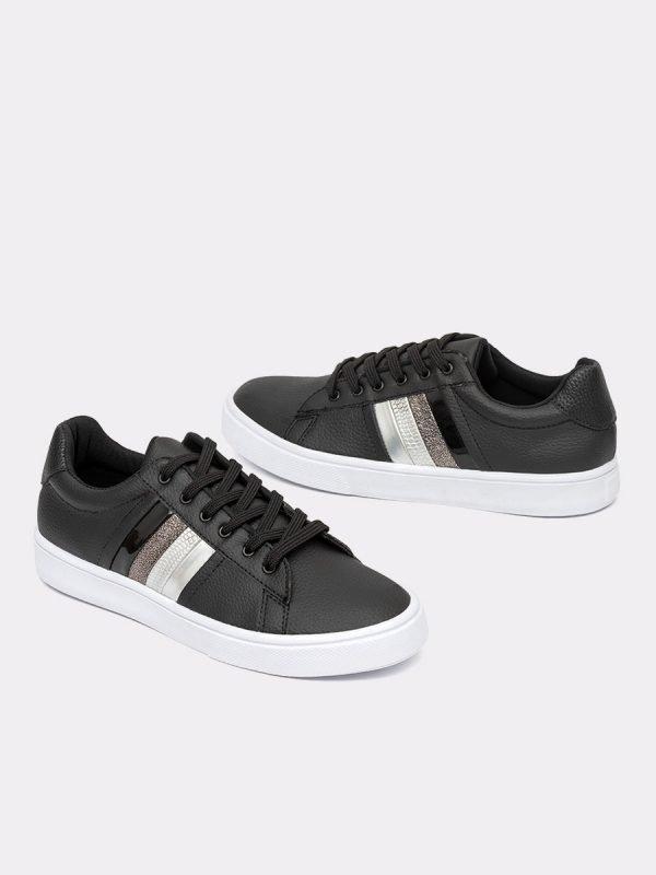HOGAN4-NEG, Todos los zapatos, Tenis, Sintético, Vista Galeria