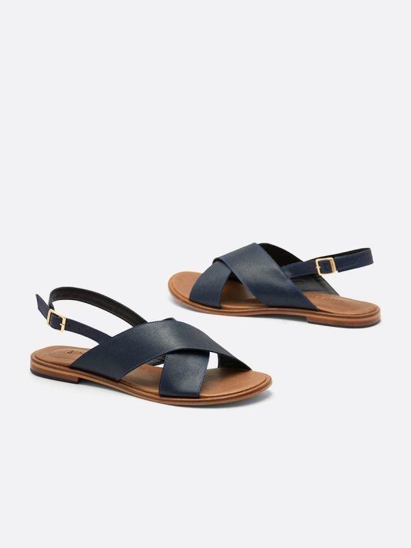 LIKA21-AZU, Todos los zapatos, Sandalias Planas, vista galeria