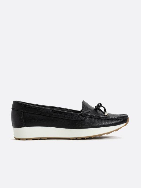 POINT-NEG, Todos los zapatos, Mocasines, Cuero, Vista Lateral