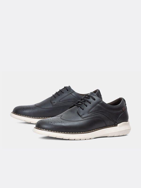 POLA02-NEG, Todos los zapatos, Casuales, Cuero, Vista Galeria