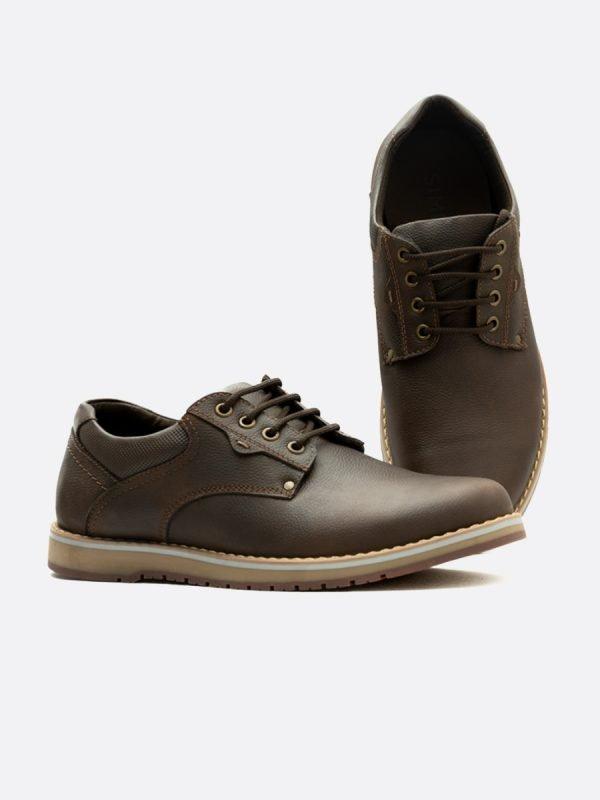SAMUS04 – CAF, Todos los Zapatos, Zapatos Casuales, Cuero, Vista Galeria