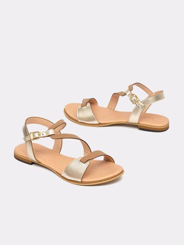 NAVY4-TAU, Todos los zapatos, Sandalias Planas, vista Galeria