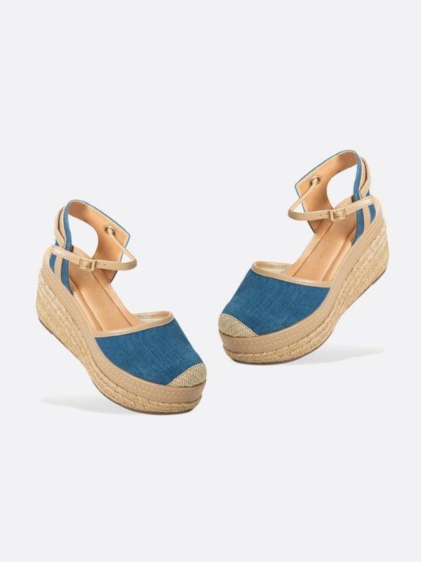 VILEN3-AZU, Todos los zapatos, Sandalias Plataforma, Yute, Vista Galeria