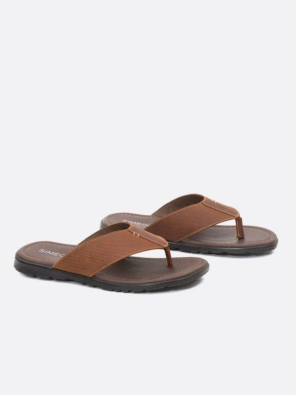 CESARTH21-MIE Todos los zapatos,Sandalias para Hombre, Cuero,Vista Galeria