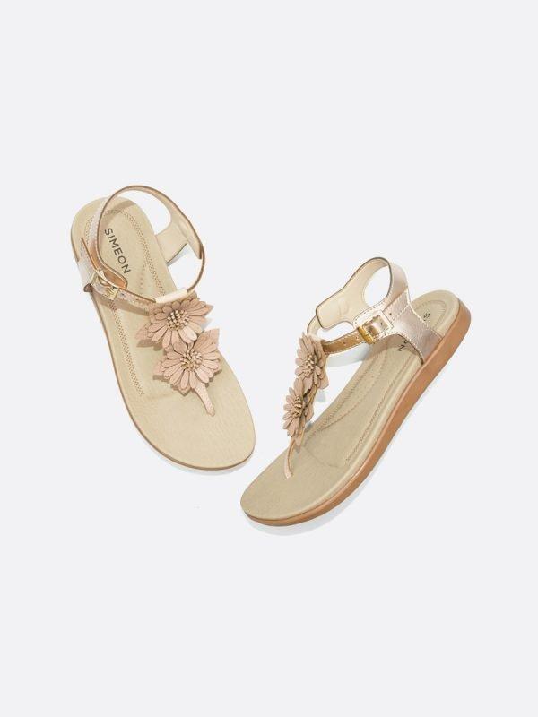 CLOU6-ORR, Todos los zapatos, Sandalias Planas, Sintético, Vista Galeria