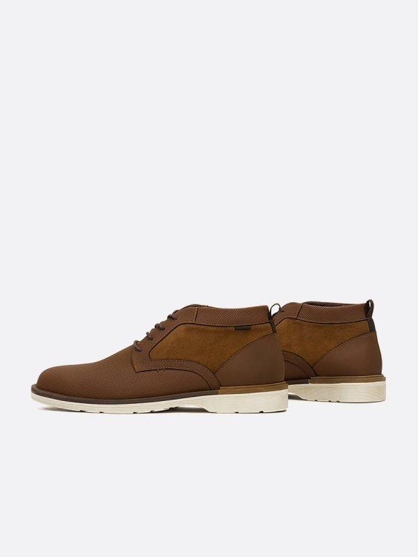EMIL14-MIE, Todos los Zapatos, Botas Casuales, Cuero, Vista Galeria