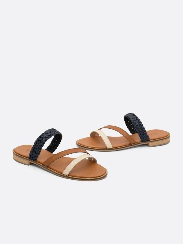 LEAD2-AZU,-Todos-los-zapatos,-Sandalias-Planas,-vista-Galeria