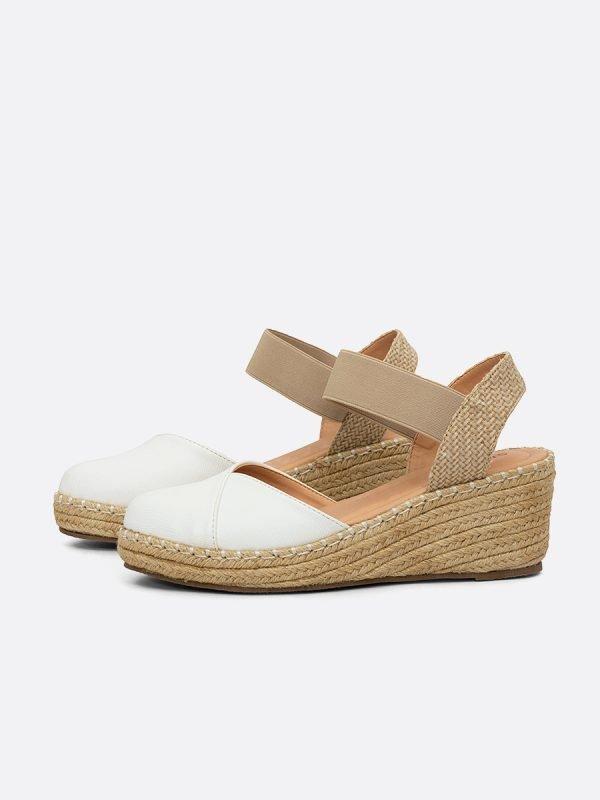VENICE4-BLA, los zapatos, Sandalias Plataforma, Vista Galeria