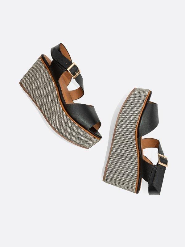 VLADI-NEG, Todos los zapatos, Sandalias Plataforma casual, Sintetico,Vista Galeria