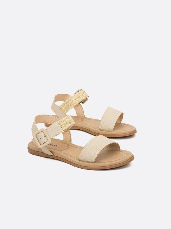 CLOU-NUD, Todos los zapatos,Plataforma Sandalias Casual, Sintético, Vista Galeria